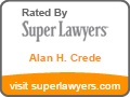 Alan H Crede - Rated by Super Lawyers